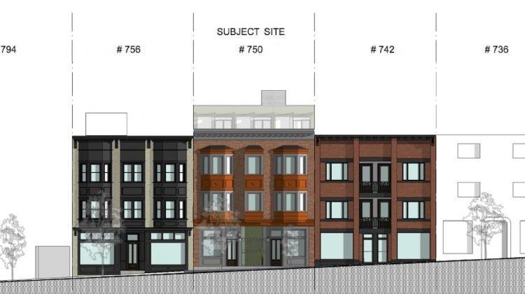 748 East Broadway facade