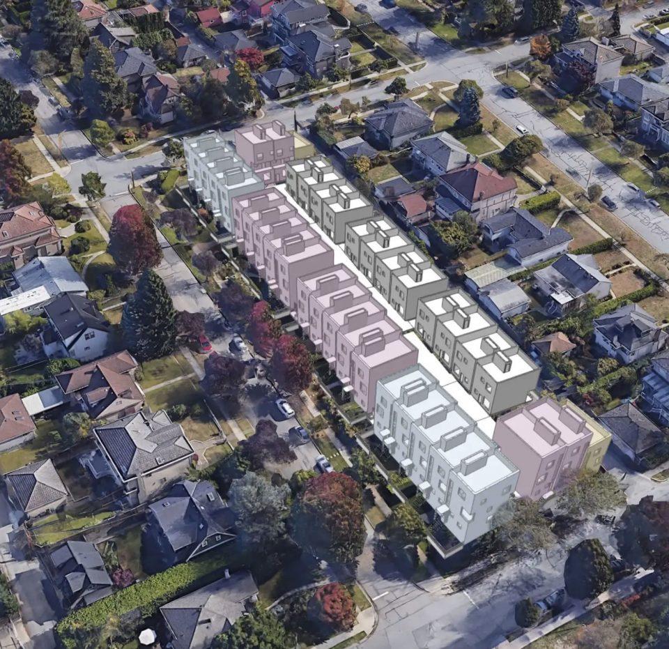 Cambie Corridor Plan development example