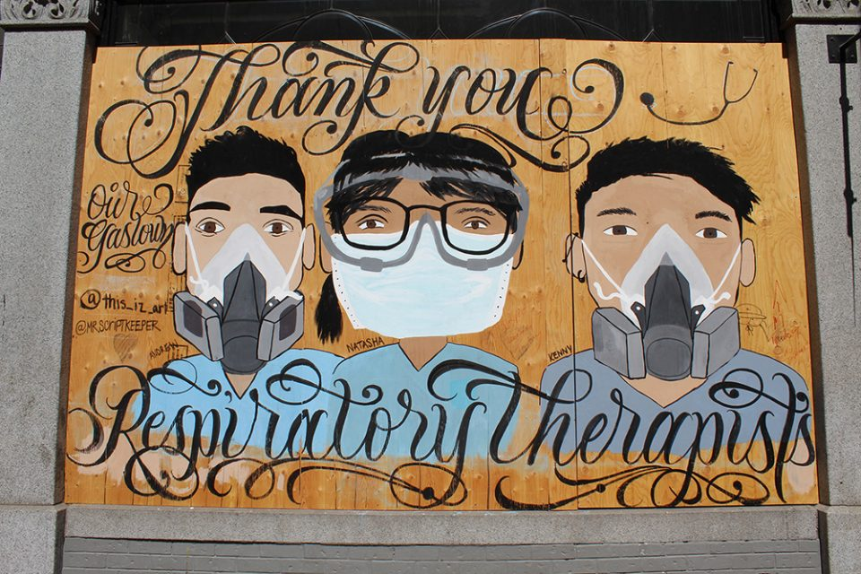 Thank you respiratory therapists