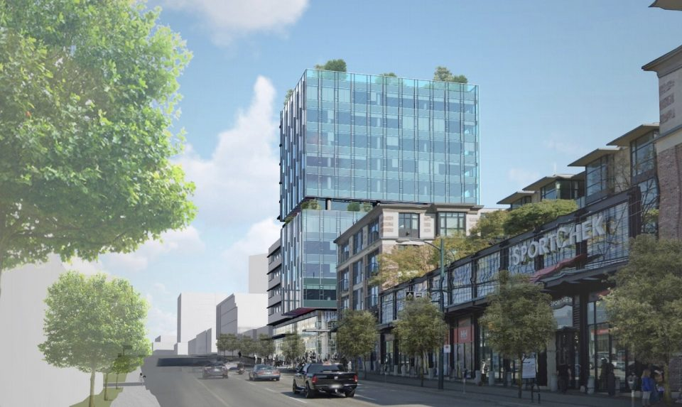 New office tower slated for East Broadway and Ontario