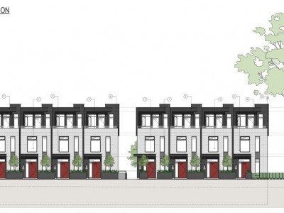 Oak and 52nd townhouses