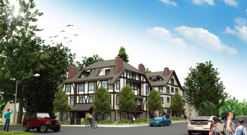 Nine new rentals squeeze around home at Granville & West 49th