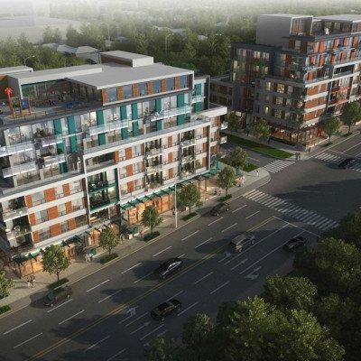 Renfrew Residences overall development