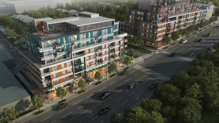 Renfrew Residences overall development