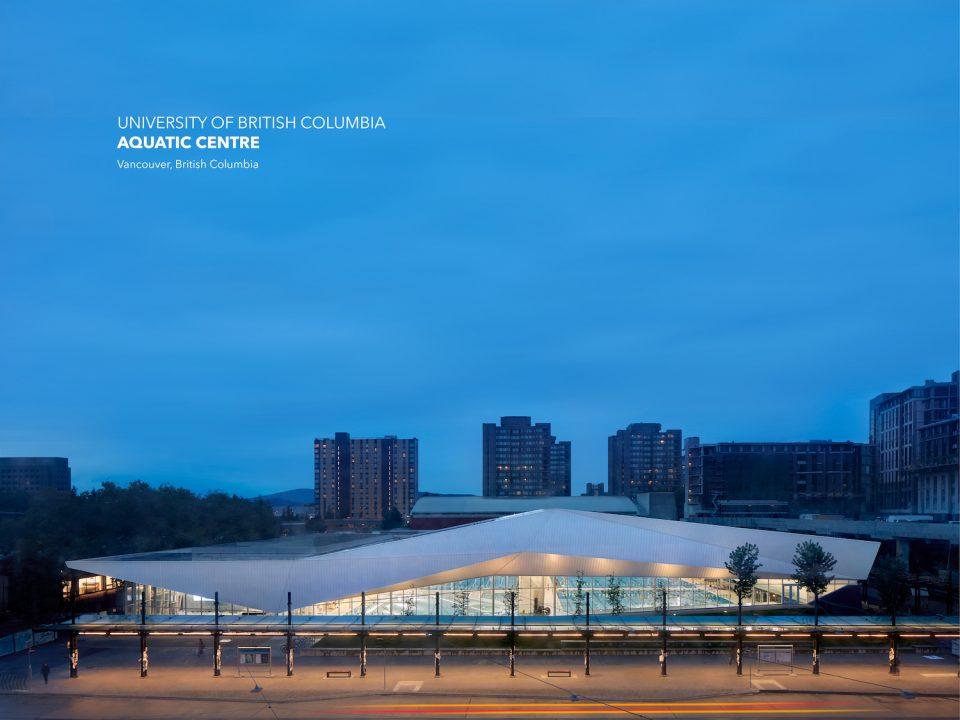UBC Aquatic Centre exterior