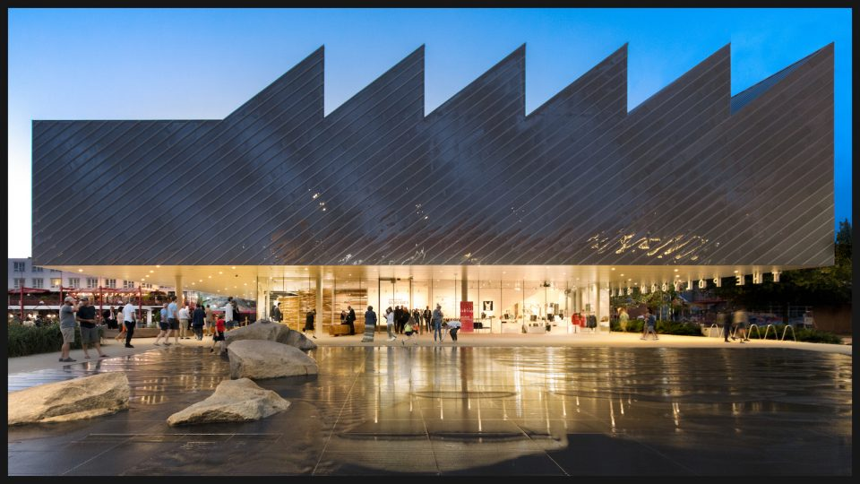 Exterior of Polygon Gallery - 2020 Governor General's Medals in Architecture winner