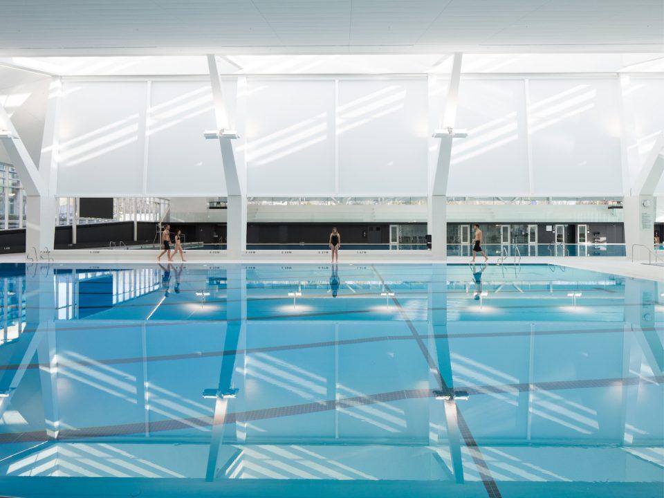 UBC Aquatic Centre interior