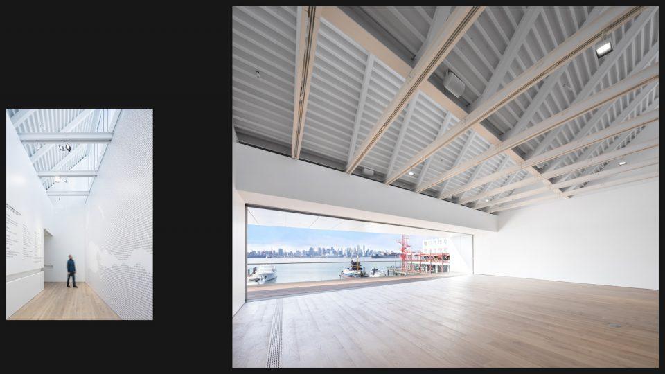 Polygon Gallery interiors