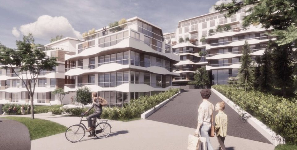 Terraced homes coming to Port Moody slope