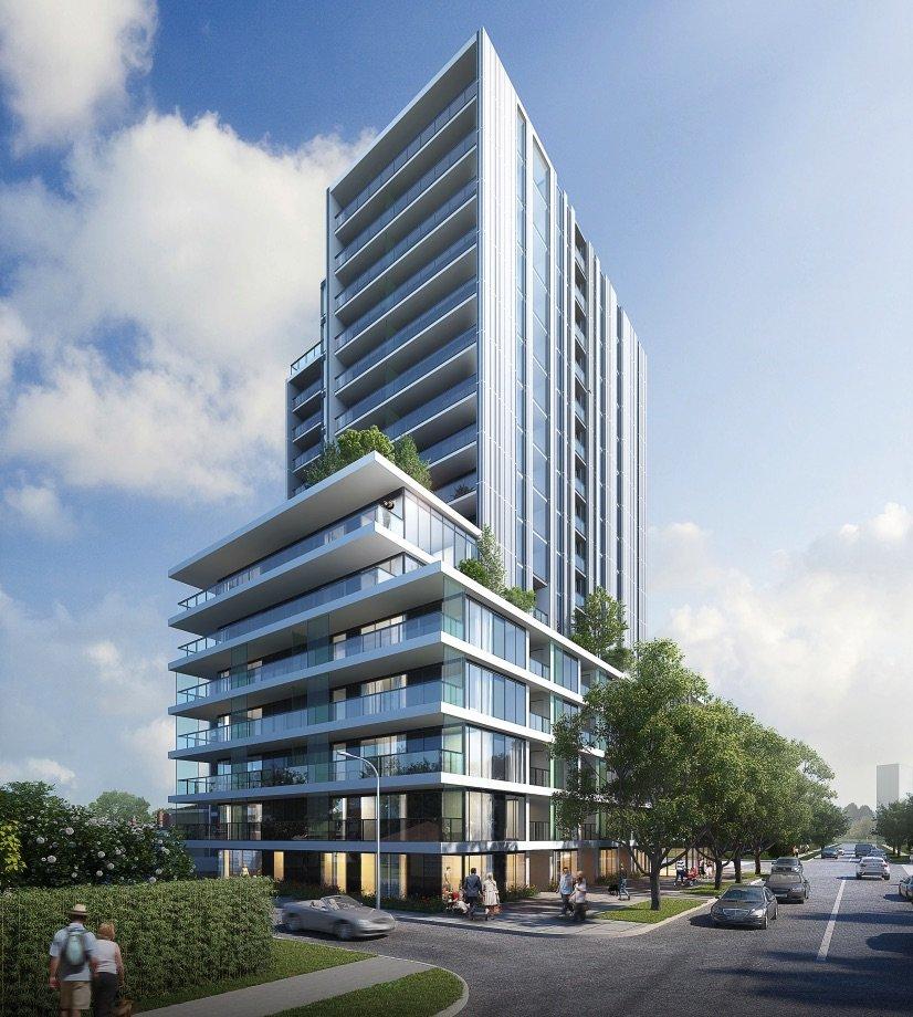 Sleek rental tower proposed near Oakridge Centre
