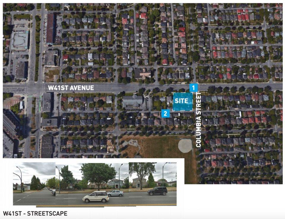 208-232 West 41st Avenue site