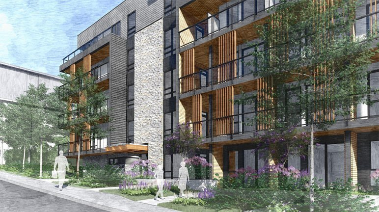 Five-storey rental building proposed for Lonsdale Ave. near Hwy 1