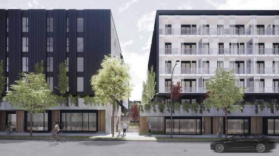 Three contemporary buildings slated for Port Moody