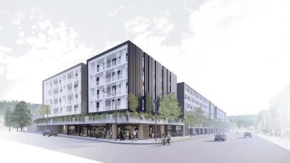 Mosaic development rendering