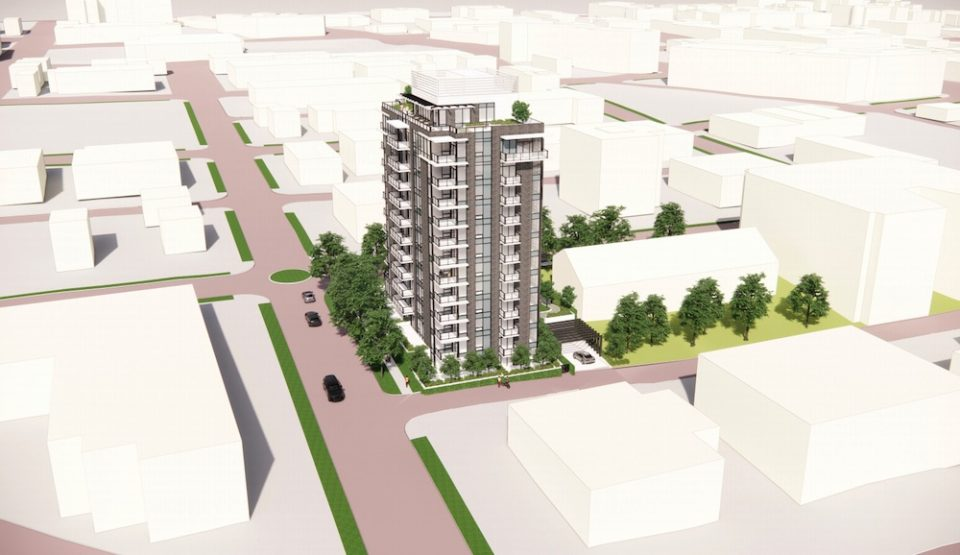 349 East 6th Avenue building rendering