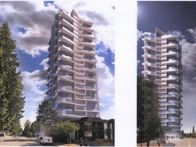 625 North Road rendering from Whiting