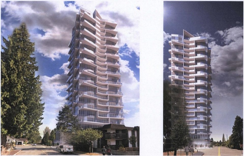 27-storey tower planned for former Burquitlam Funeral Home