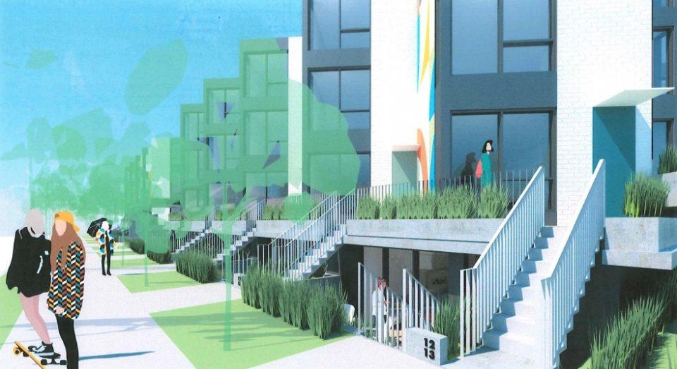 322 East 15th Avenue rendering