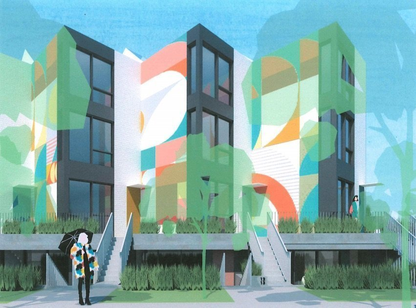 Colourful community planned in Mount Pleasant