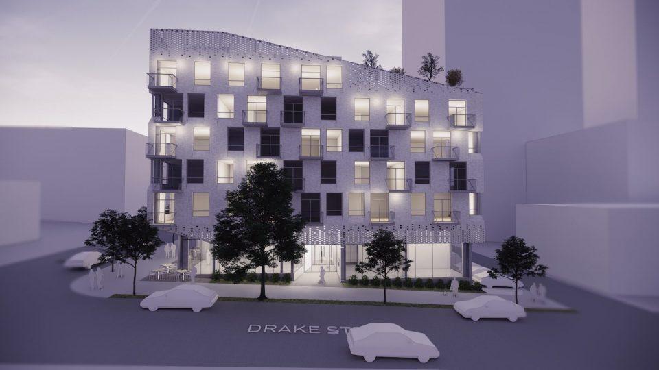 7/11 at Drake & Granville makes way for rentals
