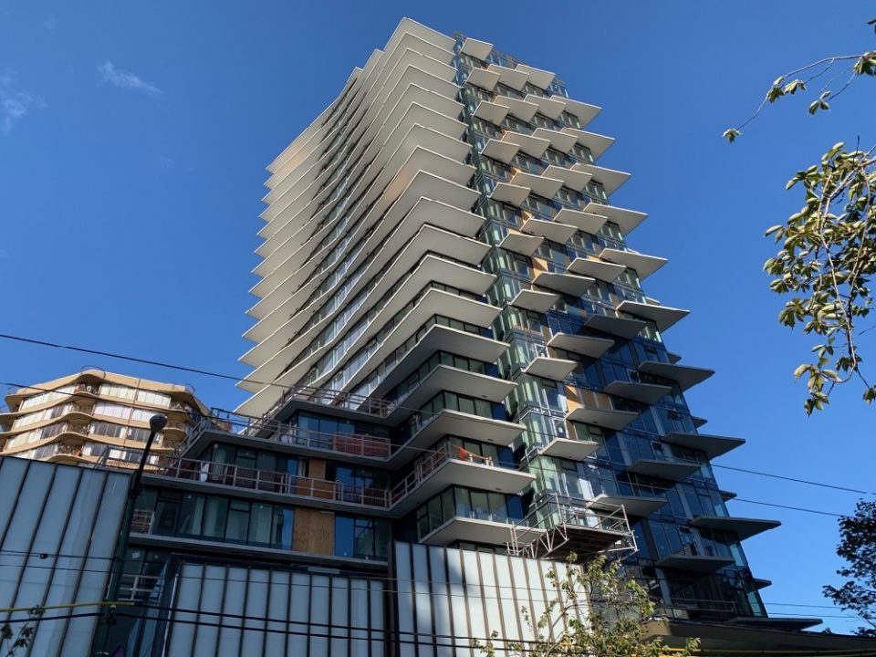 New Davie Street apartments for rent