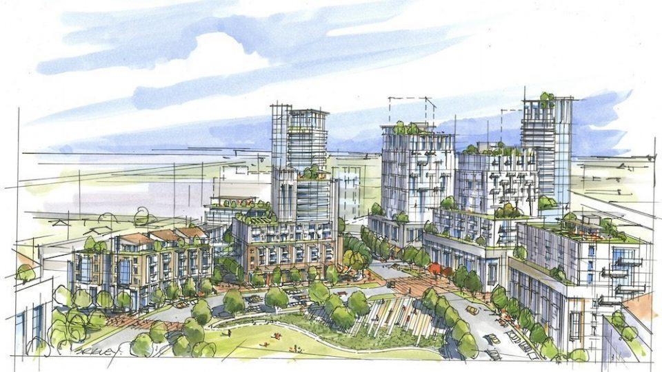 Oakridge Transit Centre rezoning seeks more height, density