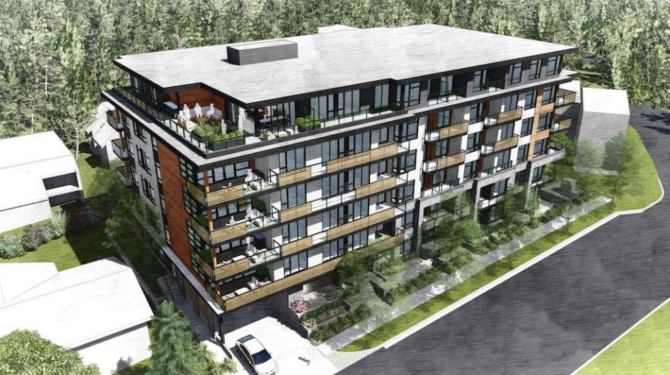Port Moody micro-units rendering