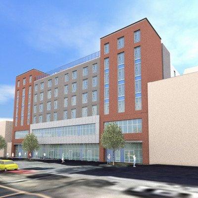 Building rendering front