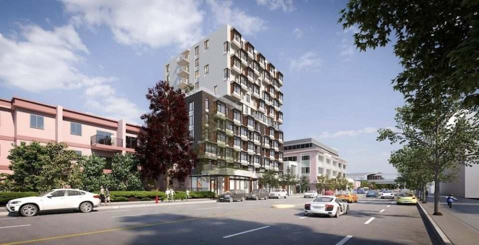 Broadway & Commercial development goes 100 per cent rental