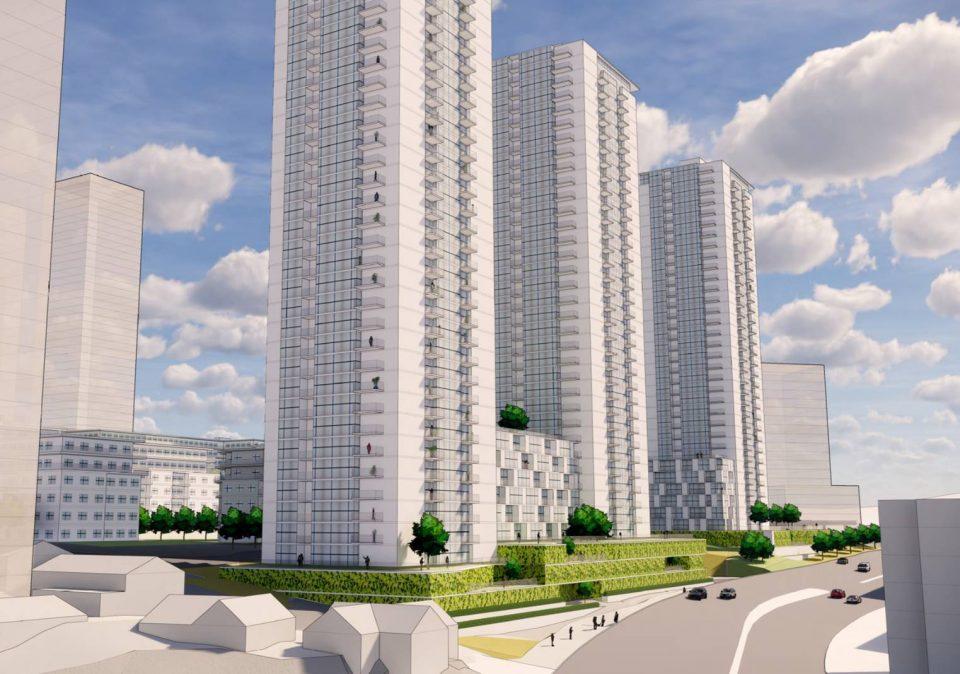 Coronation Park redevelopment renderings