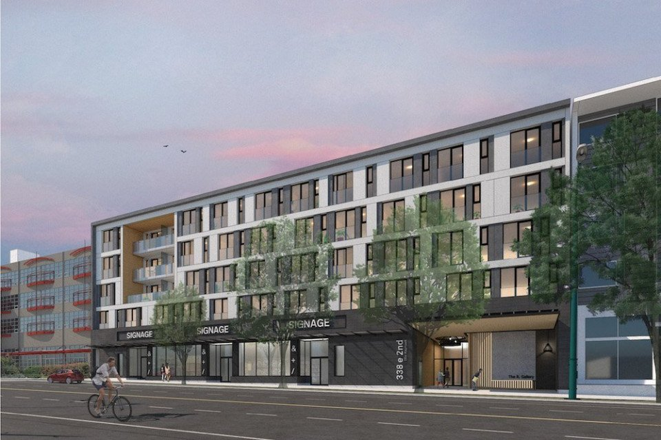 Apartments designed for creative types planned near Emily Carr