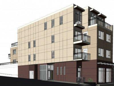 222 East 17th Avenue rendering