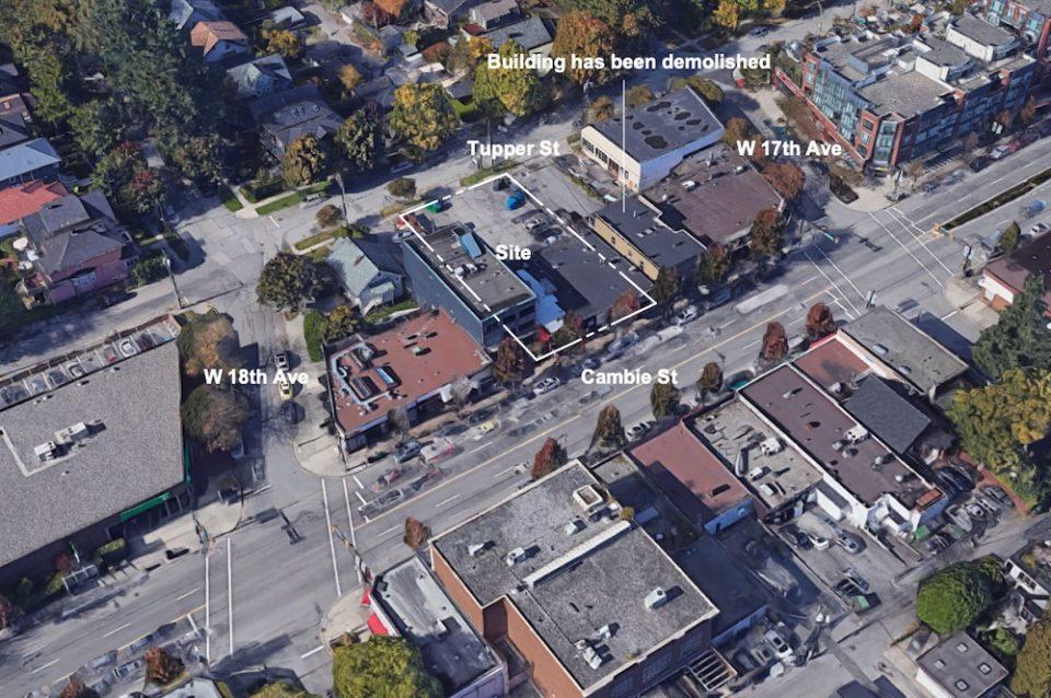 3353 Cambie Street rezoning