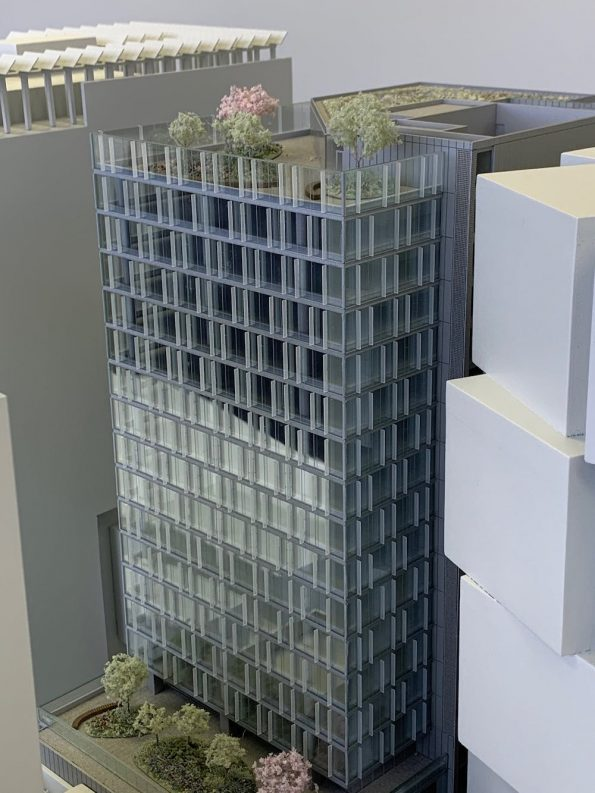 450 West Georgia office tower model