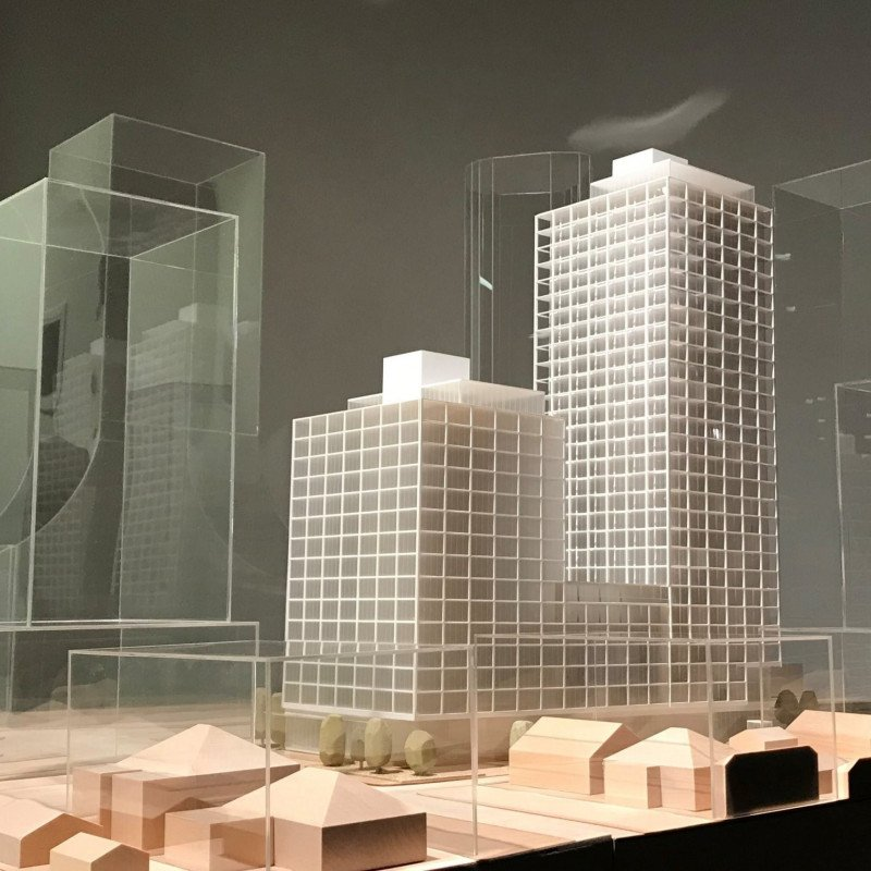 Building model for 5910-5998 Cambie Street
