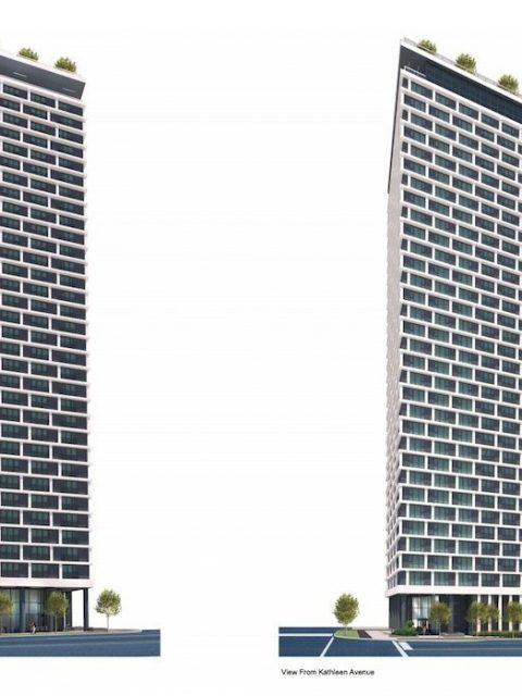 Rental tower renderings