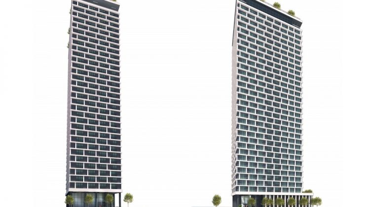 Rental tower renderings