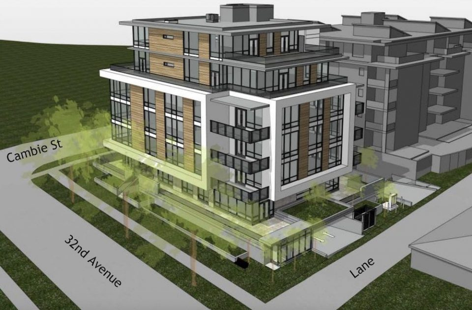 Cambie Street condo project reworked as wood frame rentals