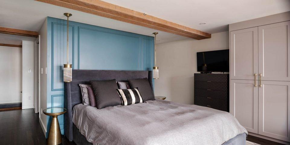 Bowman Lofts bedroom