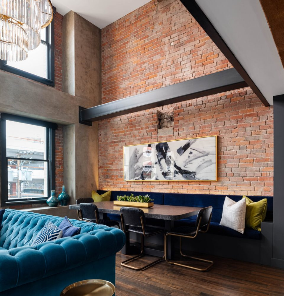 Bowman Lofts dining area