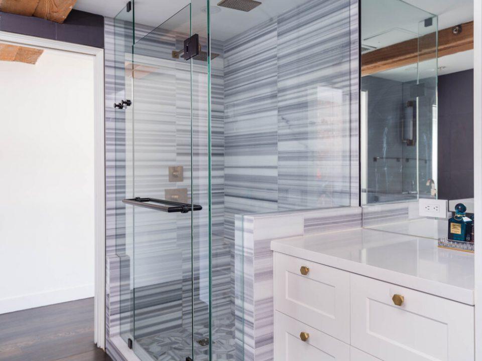 Bowman Lofts shower