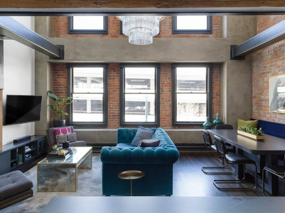 Luxurious two-level loft for sale in Crosstown