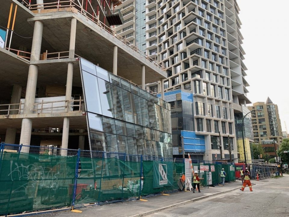 Burrard Place reaches skyward as final floors poured
