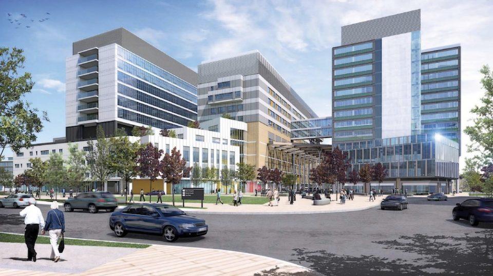 New St Paul's Hospital rendering