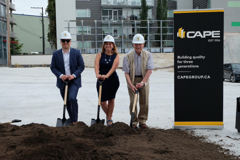The Cape Group groundbreaking at Raphael