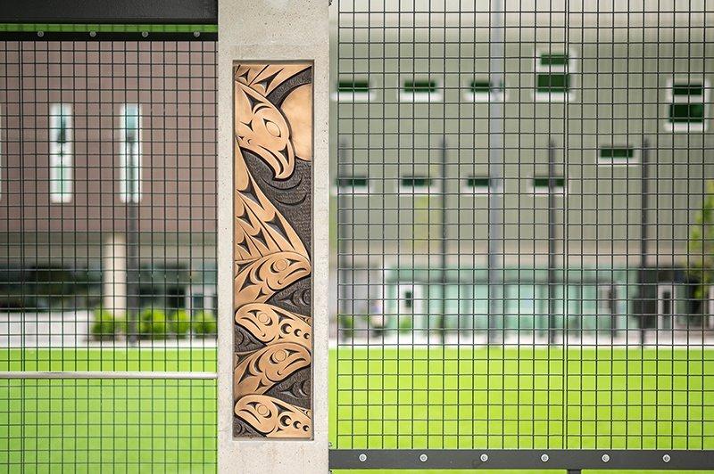 UBC Musqueam art installation