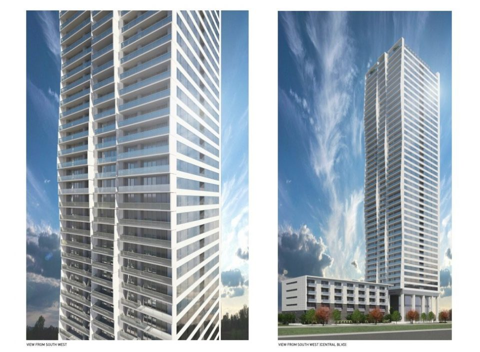 44-storey tower planned by Anthem next to Patterson SkyTrain station