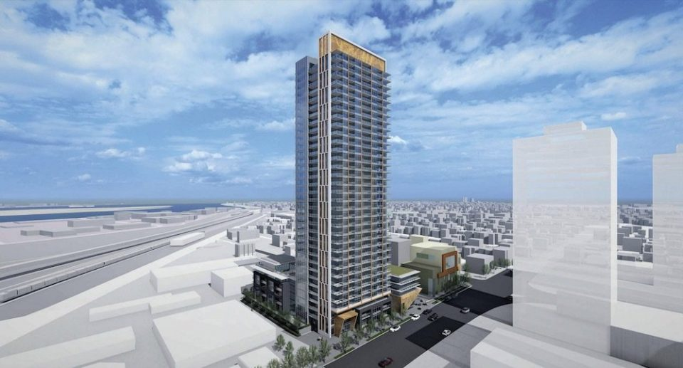 Additional height sought for 100% rental tower in New Westminster