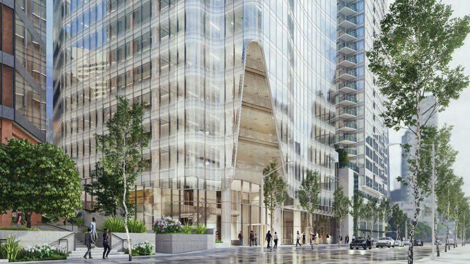 1166 W Pender Street renderings