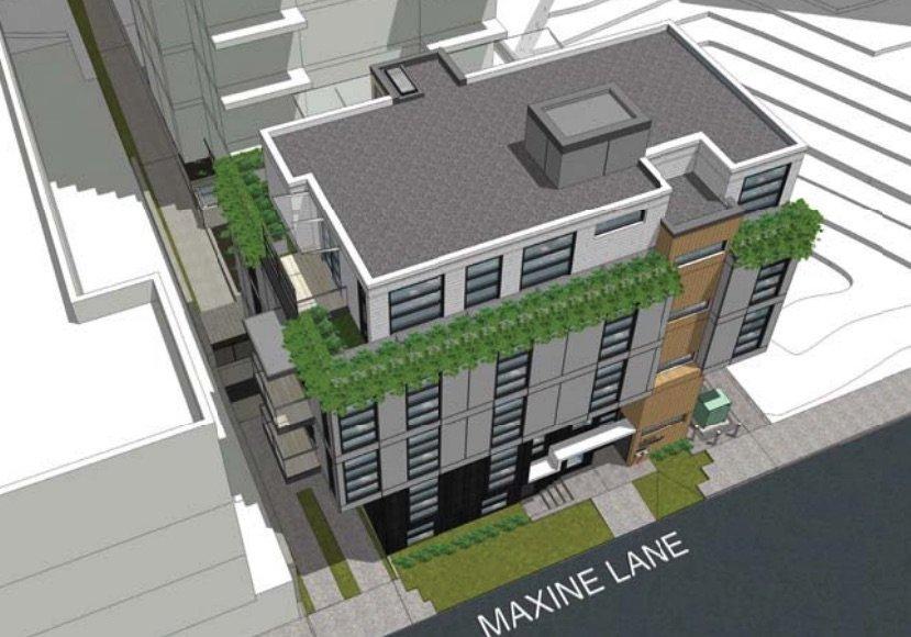 1188 Burnaby Street rendering